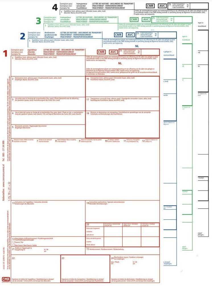 Cmr da scaricare pdf